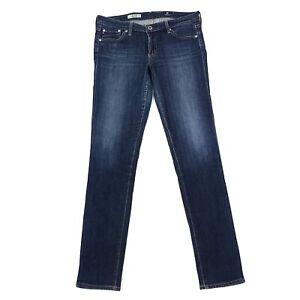 Adriano-Goldschmied-AG-The-Stilt-Cigarette-Leg-Medium-Wash-Skinny-Jeans-Sz-28