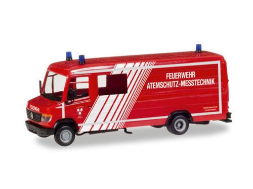 Herpa 093545 h0 camiones Mercedes vario Lang recuadro GW-a//s bomberos Landshut