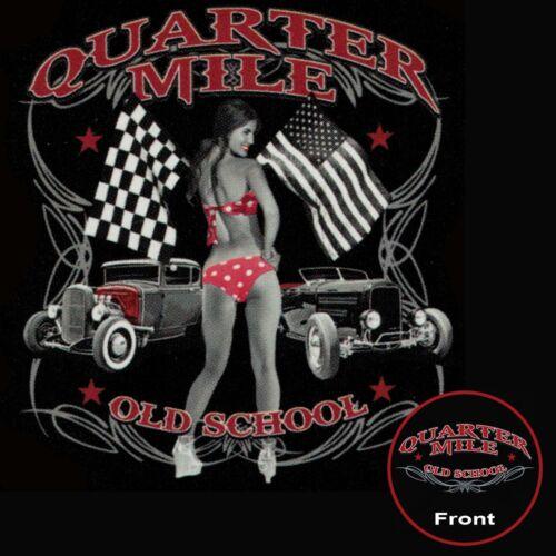 Hot Rod T Shirt Rétro Rat Rod Bikini Filles auto STREET RACING SM pour 6XL /& Tall