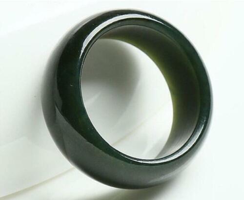 Natural jade Xinjiang Hetian men/'s jewelry jade rings internal diameter 20-22mm