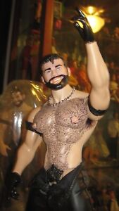 Tom Of Finland GAY Doll Figure 001 Hairy ~Collectible~ ~Action Figure~ HAIRY!