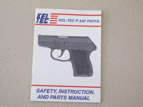 Kel-Tec Handgun P-3AT  Pistol Factory Owners Manual Original from factory