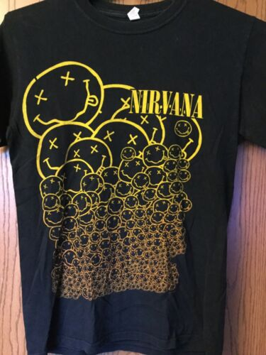 Nirvana.   Shirt.  2007.   Black.  S