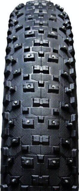 Vee Rubber 26x4.8 Snow Shoe XL Studded Fat Tire Folding Bead Silica Compound
