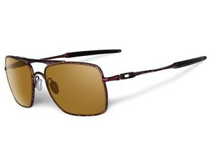 cc63114b6dc Image is loading NEW-OAKLEY-DEVIATION-Sunglasses-Brown-Camo-Dark-Bronze-