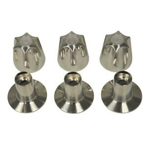 Danco-9D00081429-Brushed-Nickel-Tub-amp-Shower-3-Handle-Remodeling-Trim-Kit-for