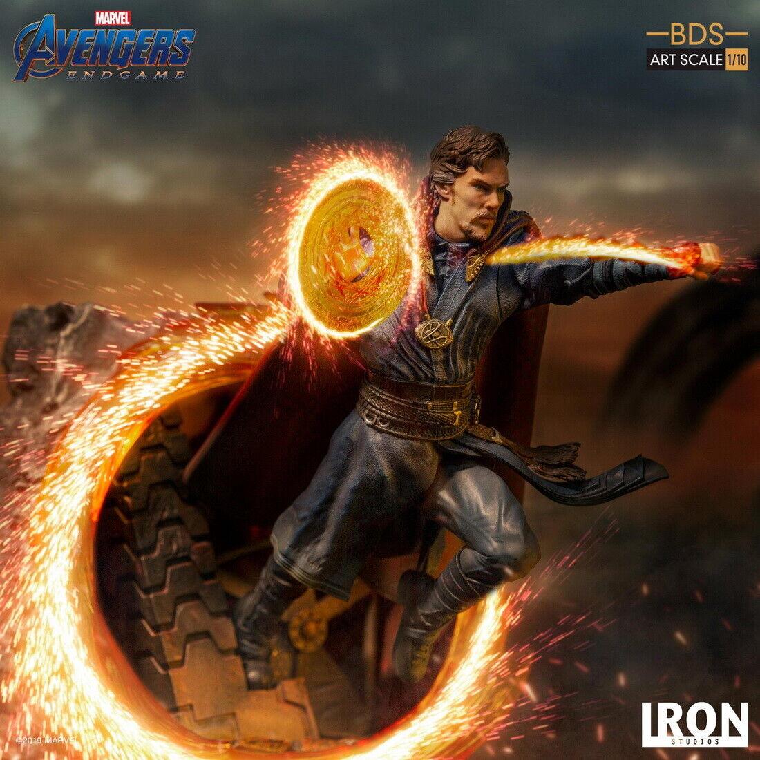 Iron Studios 1 10 Doctor Strange Estatua Figura Colección Toys Avengers  Tacho