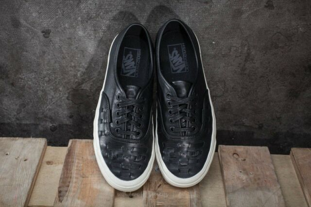 c4badd98d2 VANS UA Authentic Weave DX SNEAKERS Vn0a38f3l3a Black 9 for sale ...