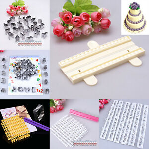 Alphabet number letter cake cookies decorating cutter for Letter f decoration