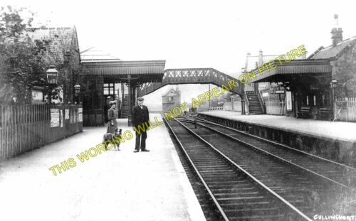 Ingrow Cullingworth Railway Station Photo 1 Wilsden Keighley to Bradford.
