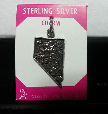 Vintage Collectable .925 Sterling Silver State Charms - Various States