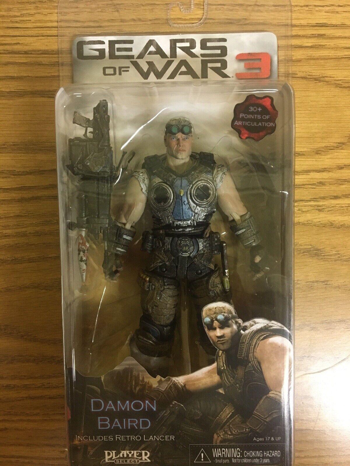 Damon Baird-Gears of War 3 -7  pulgadas figura de acción 30+ puntos de articulación