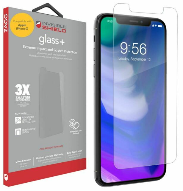 Tempered Glass Screen Protector For Apple iPhone 11 PRO, X And XS