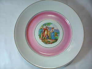 Decorative Plate IN Porcelain, Exquisite Decoration Of Age