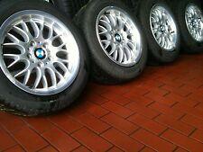 4x BMW 3er E36 E46 KREUZSPEICHE Alufelgen Pirelli Winterreifen 205/55 R16 91T