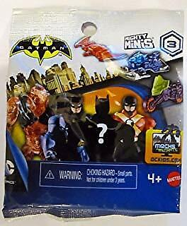 Batman Unlimited New Mighty Minis Series 3 Blind Bag Mystery Figures Sealed
