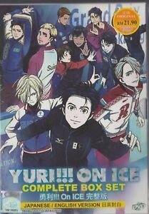 Anime DVD Yuri!!! On Ice Vol.1-12 End English Dubbed