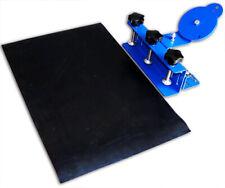 Desktop Silk Screen Printing Clamp 1 Color Shirt Press Printer With Rubber Pad