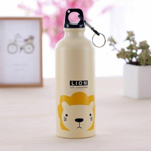 Animal Printed Water Bottle Kids Colorful Drinking Cup School Outdoor Bottles