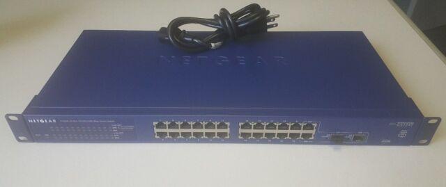 Netgear GS724T V3 ProSafe 24 Port 1 Gbit/s Gigabit Ethernet Géré Commutateur Intelligent