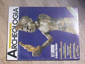 $$a Revue Archeologia N°247 Louvre Tombes Princieres Celtes Oreillers