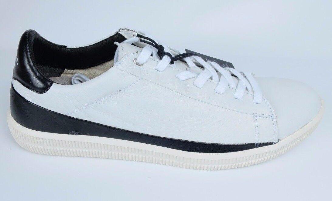 Diesel cortos S-naptik caballero zapatillas de cuero zapatillas Men zapatos blancoo y1262 nuevo r2