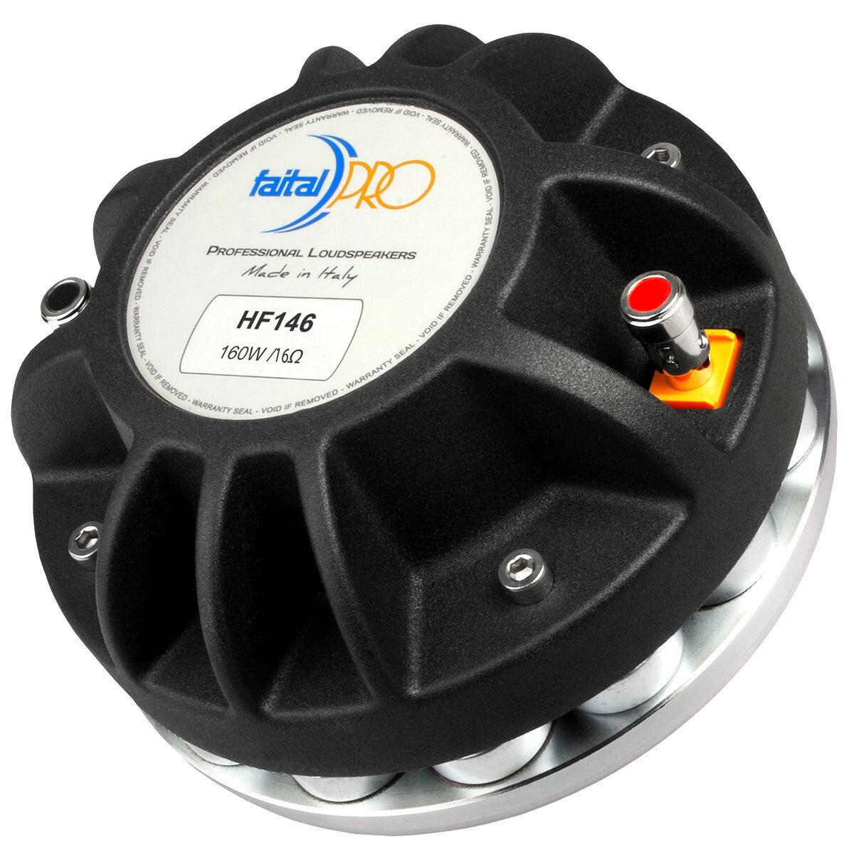 FAITAL PRO HF146 1.4  Neodymium Tweeter Compression Horn Driver 16 Ohm 160W KP