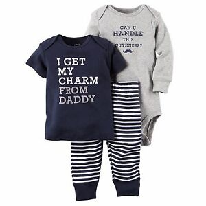Carter's Baby Boy Clothes. invalid category id. Carter's Baby Boy Clothes. Showing 17 of 17 results that match your query. Search Product Result. Product - Faded Glory - Baby Boys' Cargo Pull On Short. Product Image. Price. In-store purchase only. Product Title.