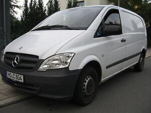 Mercedes-Benz-Vito-110-CDI-TUV-04-2019-Reifen-NEU-LKW-Zull-EURO-5-Gruene-Plak