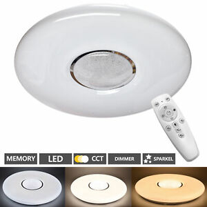 Lampada LED Da Soffitto Soggiorno Camera Letto con Telecomando 48W