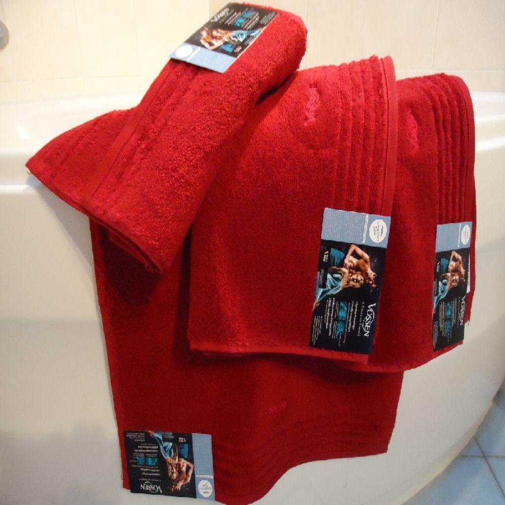 Vossen Vienna Style rubin Set 1x Duschtuch 2x Handtuch 3x GT statt 71,35   | Einfach zu bedienen
