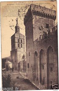 84-cpa-AVIGNON-Notre-Dame-des-Doms-Tour-Campane-H7091