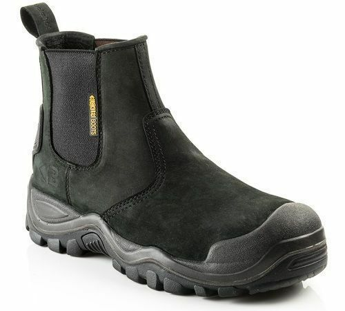 Buckler Buckshot BSH006 S3 black Anti-scuff Toe safety dealer boot 6/40  13/47