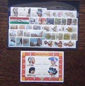 Transkei-1977-1983-sets-Xhosa-Birds-Health-Scouts-Tourism-Plants-Radio-Umata-MNH