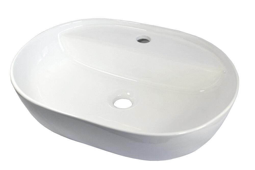 Lavabo Oval Cerámica Lavabo Lavabo Cerámico Artículo Grande 50x38