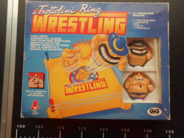 Wresling i Trossotolini Ring Gig Toy Boys WWE WWF Action Figure