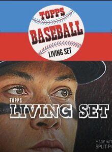 Details About 2018 Topps Baseball Living Set 1953 Baseball Design Cards 1 108 You Pick