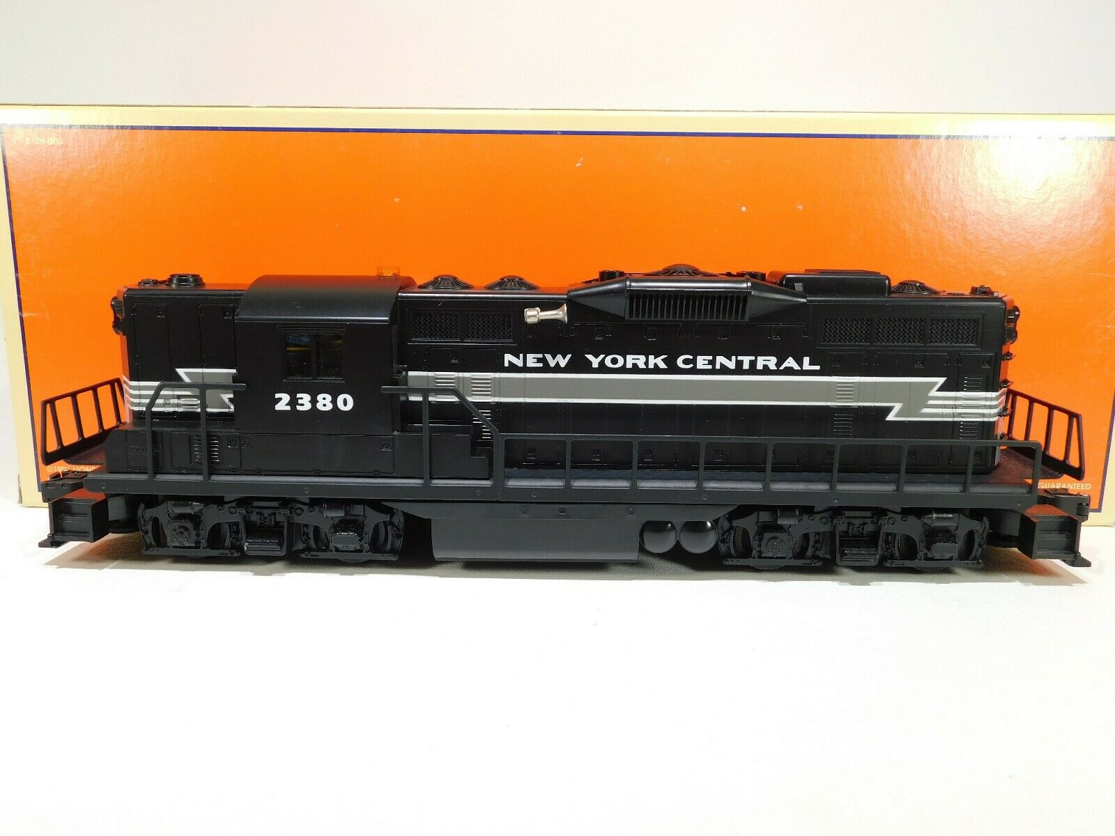 Lionel O Gauge 2380 nuovo YORK CENTRAL GP9 loco  141A   618563