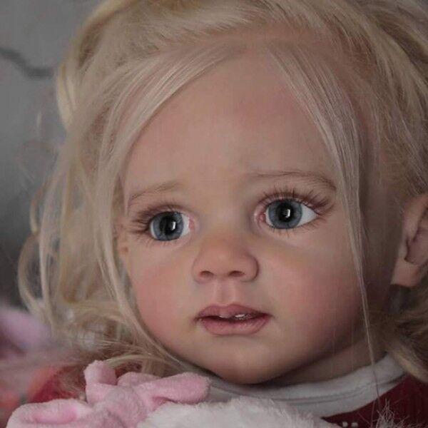 Fritzi Muñeca Kit hermana para friddolin Piezas en Blanco Hacer un bebé Reborn-no completado