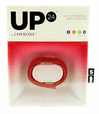 UP 24 Jawbone Bluetooth Red Small Fitness Band Tracker BRAND NEW!!!