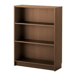 ikea billy b cherregal in braun eschenfurnier 80x28x106cm holzregal ebay. Black Bedroom Furniture Sets. Home Design Ideas