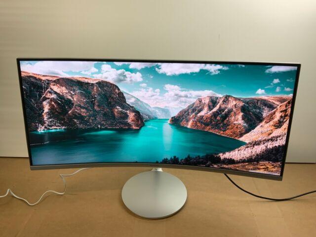 "Samsung C34F791 34"" Curved LED LCD Display (WQHD) C34F791WQN ✅❤️️✅❤️️ READ"