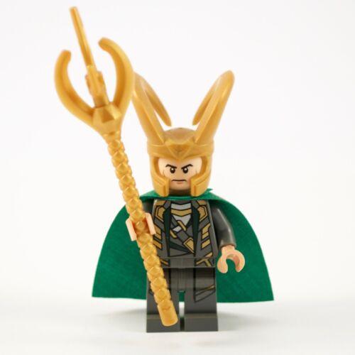 Lego Avengers Marvel Super HeroS Loki Minifigure Figure 6868 6867 6869