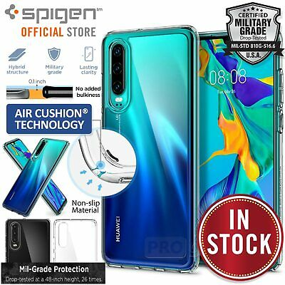 Huawei P30 Case, Genuine SPIGEN Ultra Hybrid Air Cushion Cover for Huawei