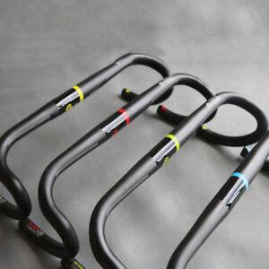 TOSEEK Bicycle Handlebar Road Bike Racing Drop Bar Handlebar 31.8mm Carbon Fiber