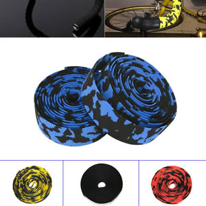 2x-Non-slip-Tape-Road-Bike-Handlebar-Tape-Bicycle-Drop-Bar-Wrap-Outdoor-Sports