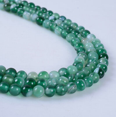 4mm315 4mm green agate round loose beads