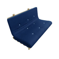 Royal Brooklyn Roll Out//Fold Up Futon Mattress Twill Cotton Guest Bed Sleep Over