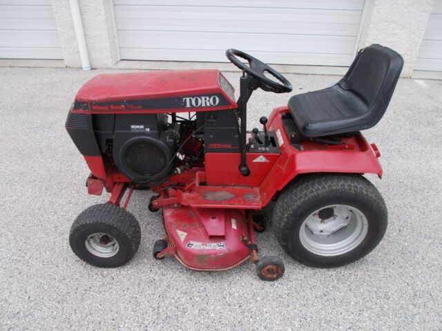 Toro Wheel Horse 312 8 Garden Tractor 12 Hp Kohler 42 Sp Runs