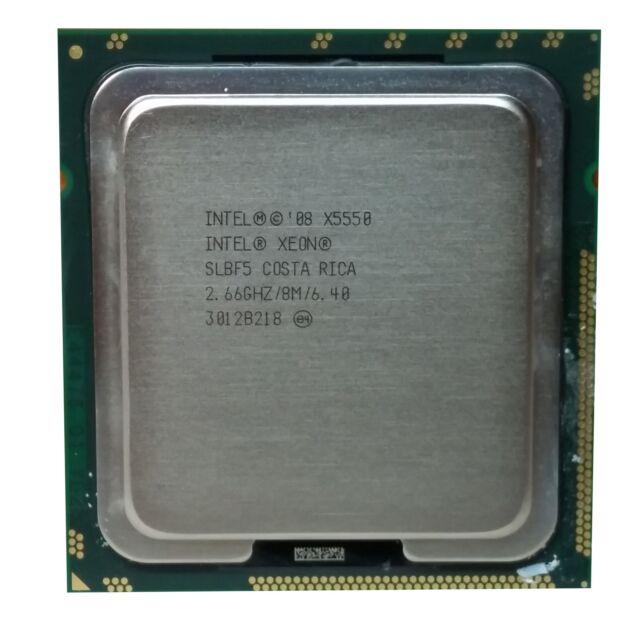 Intel Xeon X5550 (SLBF5) 2.66GHz 4-Core LGA1366 CPU